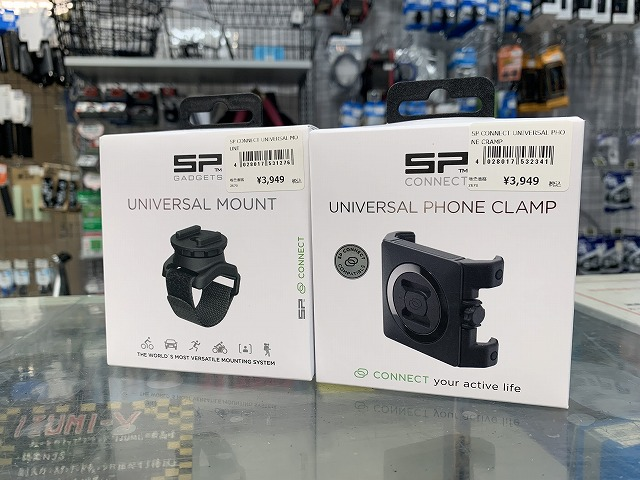 SP CONNECT PHONE CLLAMP  SP CONNECT UNIVERSAL MOUNT